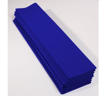 Papier crépon 40 % - 10 feuilles - Bleu France