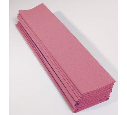Papier crépon 40 % - 10 feuilles - Rose pâle