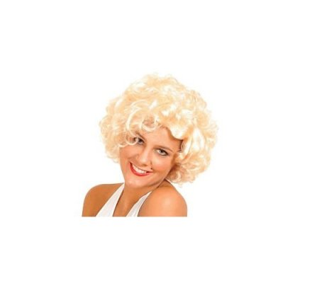 Perruque star cinéma blonde