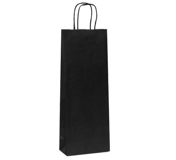 10 sac kraft avec poign es 8270. Black Bedroom Furniture Sets. Home Design Ideas